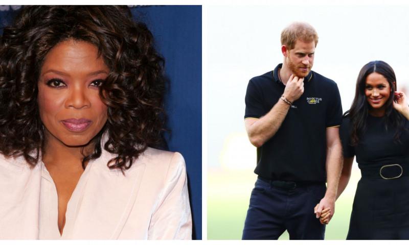 Oprah Winfrey, despre dezvăluirile făcute de Harry si Meghan Markle