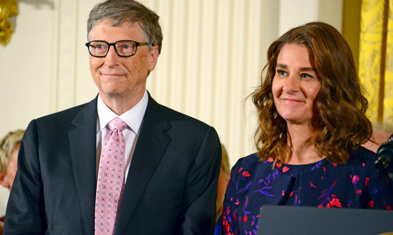 Melinda și Bill Gates