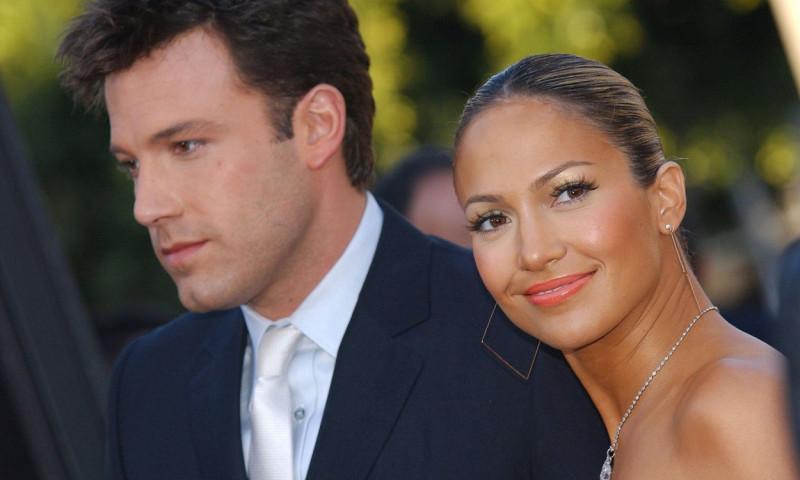 Ben Affleck și Jennifer Lopez, în 2003.