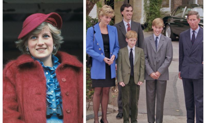 Prințesa Diana, scrisoare despre relația dintre William și Harry