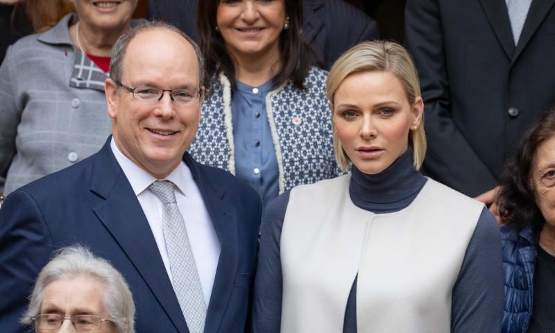 Charlene este soția prințului Albert de Monaco