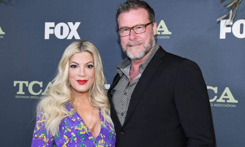 Tori Spelling și soțul ei, Dean McDermott