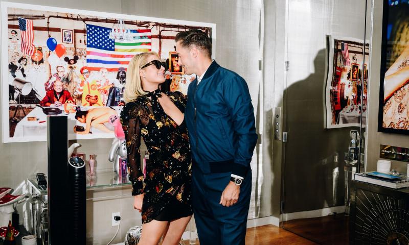 Paris Hilton și logodnicul ei, Carter Reum