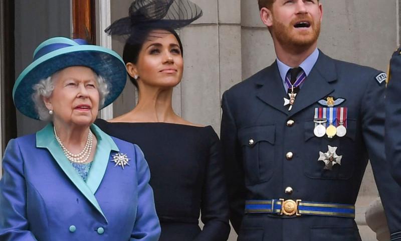 regina elisabeta, meghan markle, printul harry