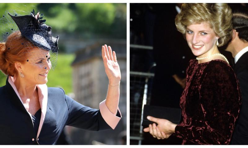 Sarah Ferguson, cea mai bună prietenă a prințesei Diana