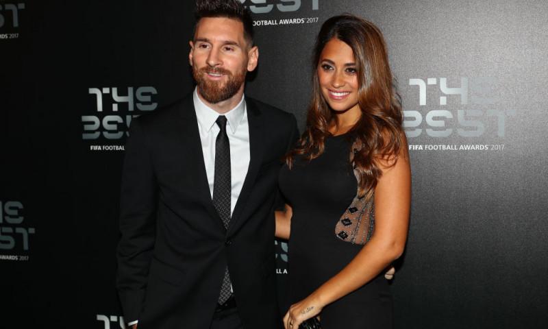 Lionel Messi și soția lui, Antonela Roccuzzo