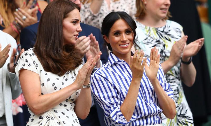 Kate Middleton și Meghan Markle