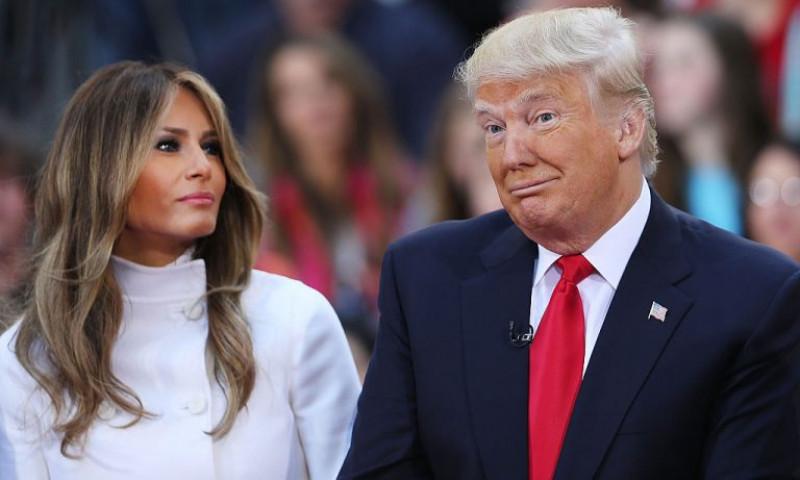 Melania și Donald Trump