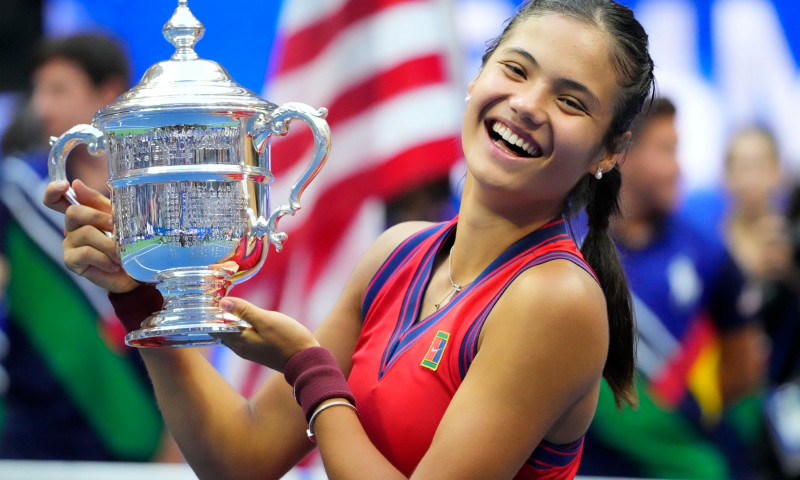 Emna Răducanu la US Open
