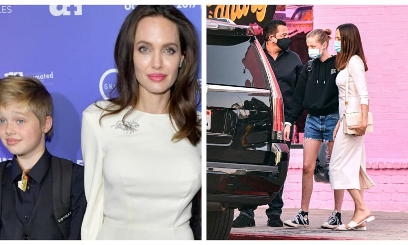 Angelina Jolie și fiica ei, Shiloh