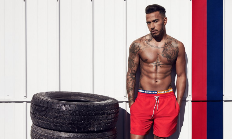 Lewis Hamilton partners with Tommy Hilfiger