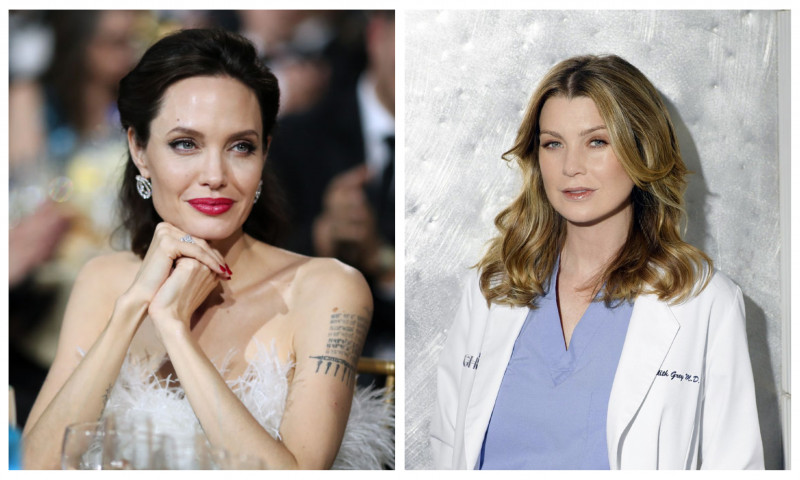 Angelina Jolie și Ellen Pompeo