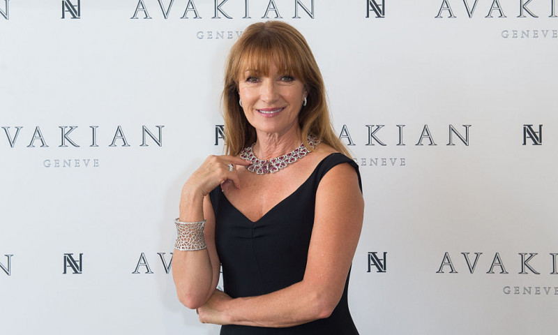 Jane Seymour Visits The Avakian Suite During The 68th Annual Cannes Film Festival