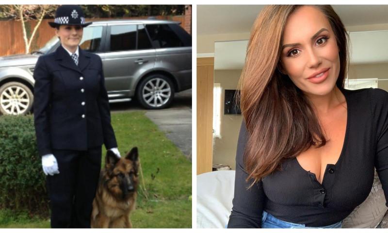Charlotte Rose câștigă o avere după ce a încetat să mai lucreze ca polițistă