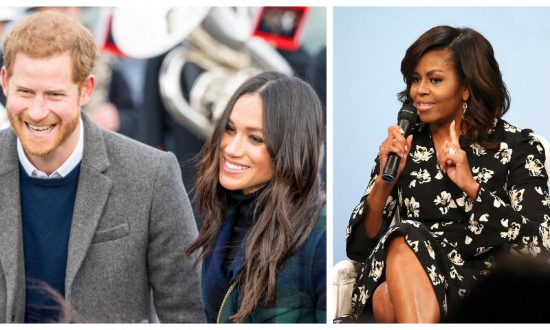 Meghan Markle, Printul Harry, Michelle Obama