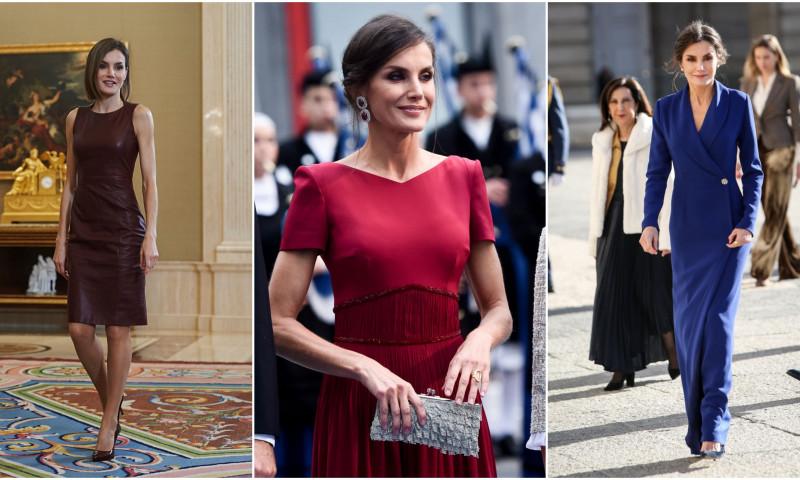 Regina Letizia stil vestimentar