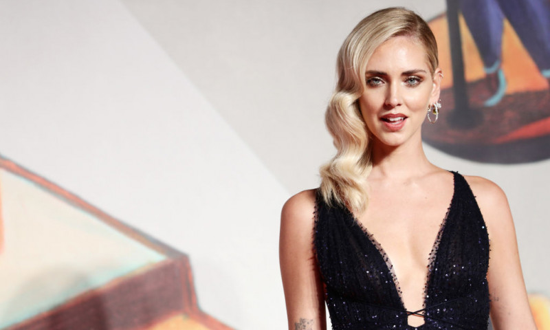 """Chiara Ferragni - Unposted"" Red Carpet Arrivals - The 76th Venice Film Festival"