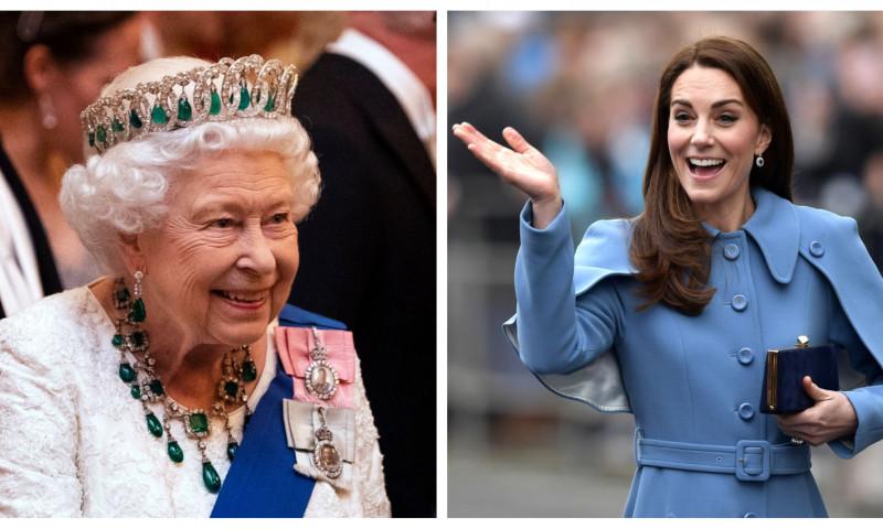 Regina Elisabeta a II-a e încrezătoare că ducesa de Cambridge îi va prelua responsabilitățile
