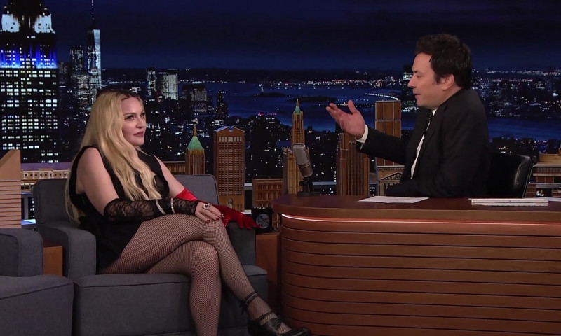Madonna Confirms She's Writing a Movie About Her Life on The Tonight Show Starring Jimmy Fallon