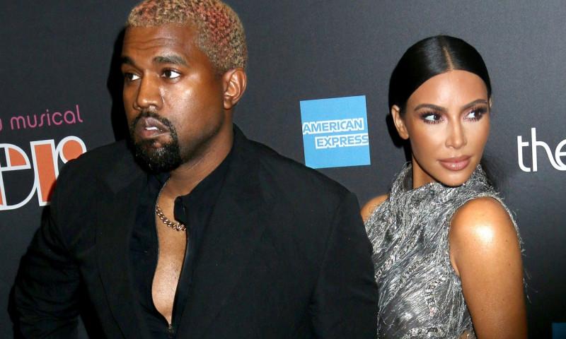 Kanye West și Kim Kardashian