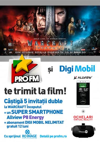 ProFM-si-DIGI-MOBIL-te-trimt-la-film -WARCRAFT
