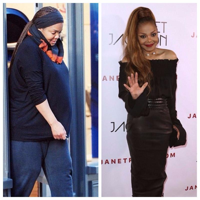Janet Jackson și problemele ei de greutate