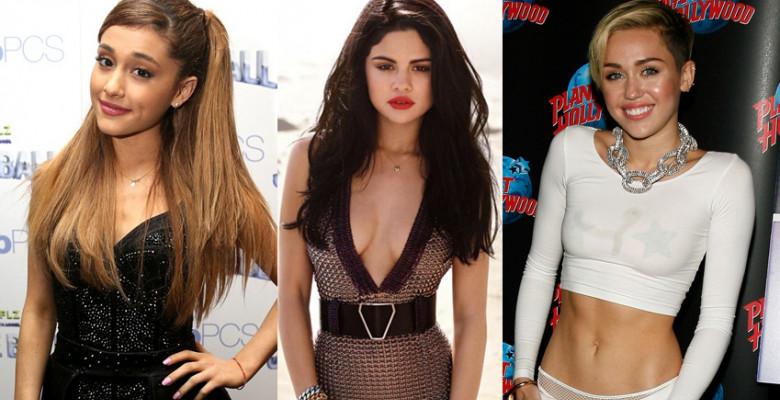 Ariana-Grande-Selena-Gomez-Miley-Cyrus