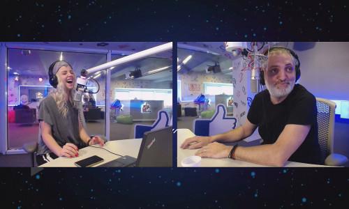 Damian Draghici si Ramona ProFM Dimineata Blana