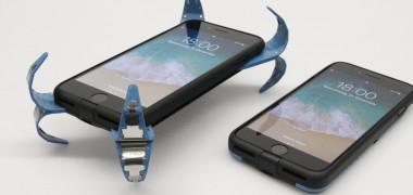 A apărut airbagul pentru smartphone. Poate fi montat pe orice telefon...