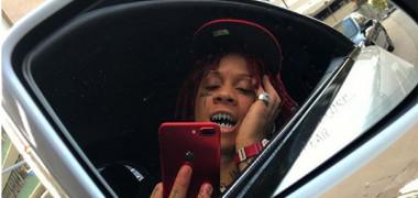 Rapperul Trippie Redd a cheltuit o avere pentru a-și îmbrăca dinții cu diamante albastre