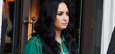 EXCLUSIVE: Demi Lovato Is Seen For The First Time Following Her Single Sober That Has Many Questioning Her Sobriety In Barcelona