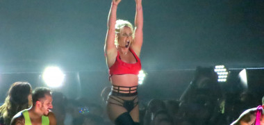 Britney Spears on Stage in Oslo.