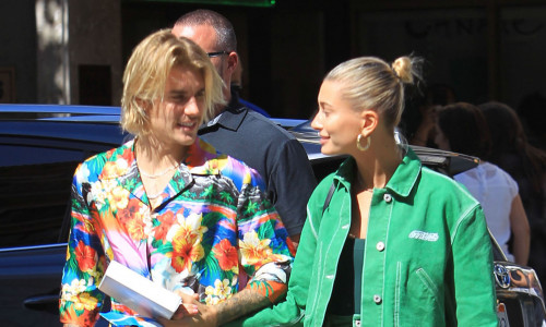 Justin Bieber and Hailey Baldwin sighting in Los Angeles, CA