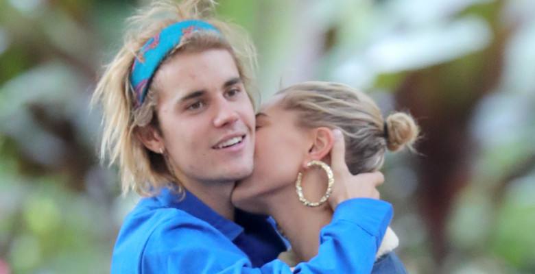 Justin Bieber And Hailey Baldwin Spotted In St James Park 183196