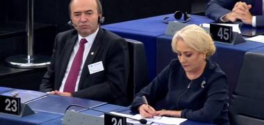 Cele mai tari meme-uri după discursul Vioricăi Dancilă în Parlamentul European