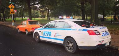 O Dacie 1300, oprită în trafic la New York. Motivul surprinzător pentru care românul a fost tras pe dreapta