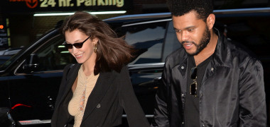 Bella Hadid celebrated her 22nd birthday with The Weeknd with a long lunch in Soho