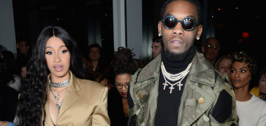 Cardi B Offset la New York Fashion Week