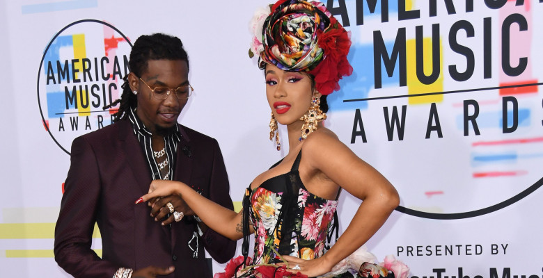 Cardi B și Offset la American Music Awards