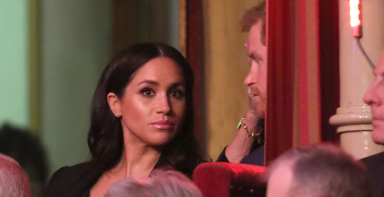 "Megham Markle și Prinșul Harry la ""Festival Of Remembrance"""