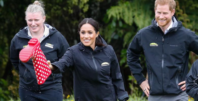 Megham Markle și Prințul Harry în Auckland, Noua Zeelandă