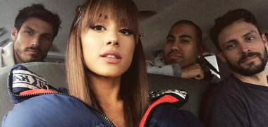 Ariana Grande prieteni Instagram