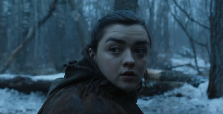 Maisie Williams în Game of Thrones