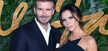 David și Victoria Beckham la Fashion Awards - Londra