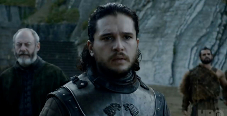 Kit Harington în Game of Thrones