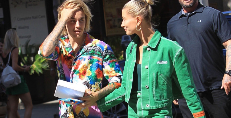Justin Bieber și Hailey Baldwin, Los Angeles