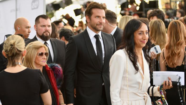 Bradley Cooper alături de Gloria Campano