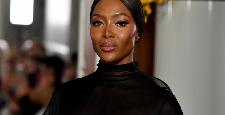 Naomi Campbell la Săptămâna Modei de la Paris