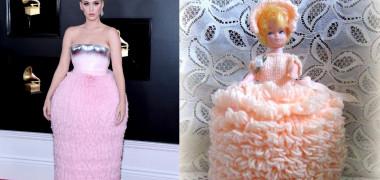katy perrry meme rochie premiile Grammy