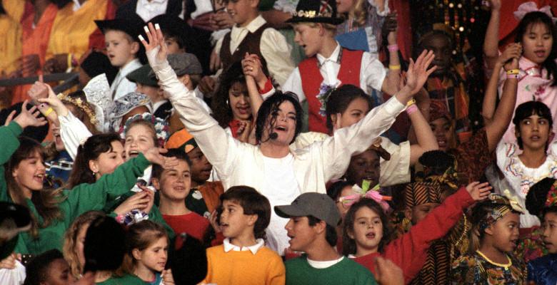 Michael Jackson concert Super Bowl XXVII
